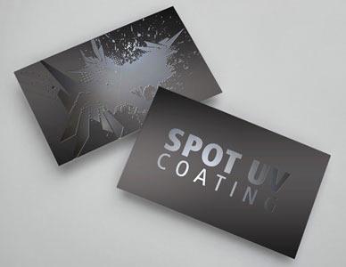 Kartu Nama Spot UV